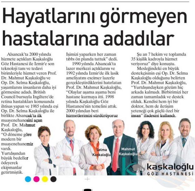 Kaşkaloğlu Ege Telgraf 22.08.2016