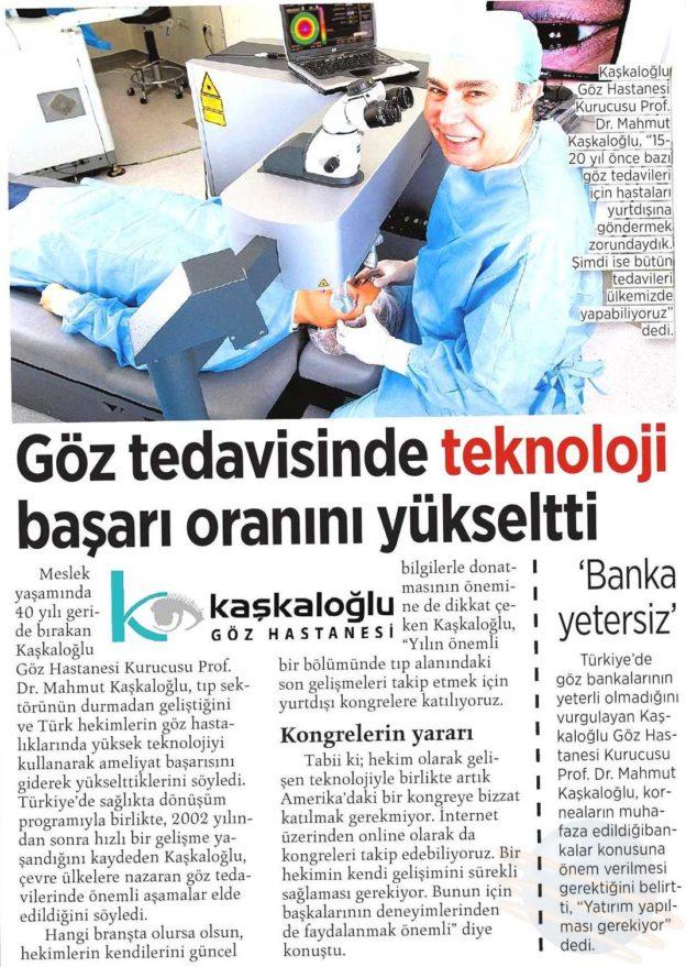 Kaşkaloğlu Milliyet Ege 13.08.2016