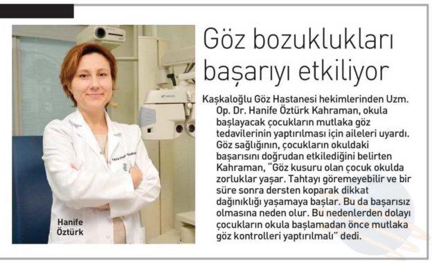 Kaşkaloğlu Ege Telgraf 30.08.2016