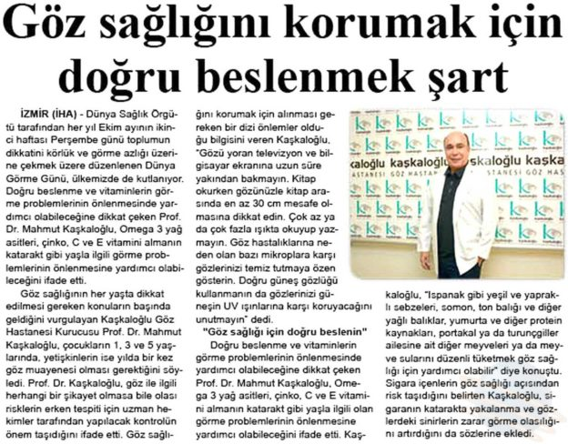 Kaşkaloğlu Zafer Gazetesi 13.10.2016