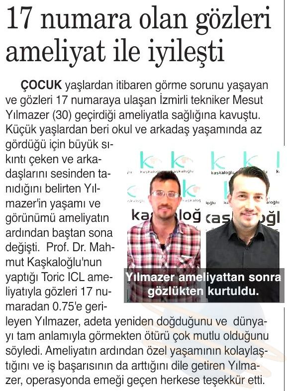 Kaşkaloğlu 9 Eylül Gazetesi 22.03.2017