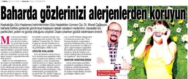 Kaşkaloğlu Yeni Asır Sarmaşık 04.04.2017